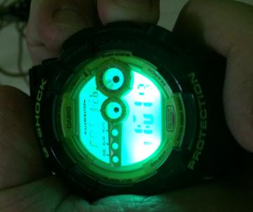 GShock gd-100SC watch photo
