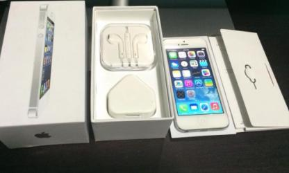iPhone 5 32gb White Smart Locked LTE photo
