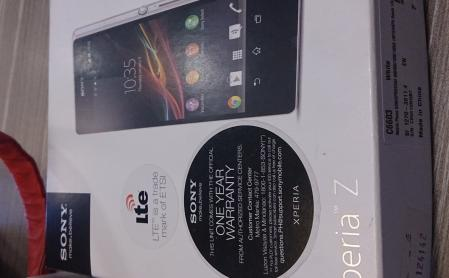 xperia Z lte complete with 3 ntc tag photo