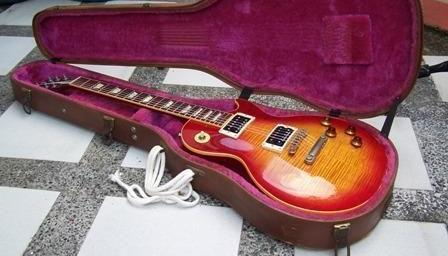 GIBSON LesPaul Historic Collection R9 1959reissue SuperFlamedTOP photo