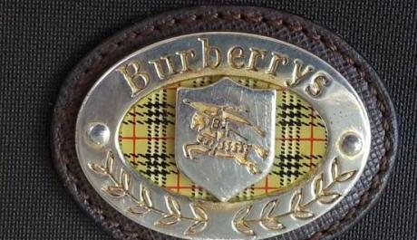 Burberry rubberized cross bag image 2