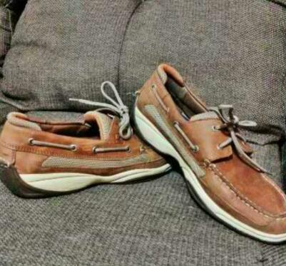 Sperry Boat Shoes Size 13 photo