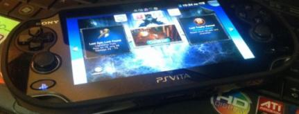 Sony PS Vita With 1 Game and 4GB MMC photo