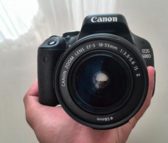 Canon EOS 600d 18-55mm Lens photo