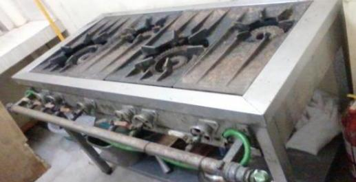 stainless steel 4 burner stove photo