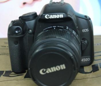 Dslr Camera Canon 450D and 18-55 photo