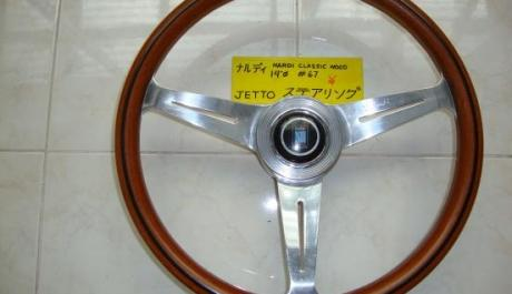 NARDI Classic wood steering wheel photo
