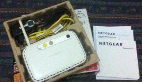 Netgear Wireless Router WGR614 photo