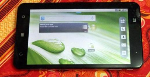 zte v9 wifi 3g tablet full phone function photo
