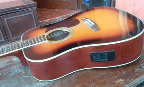 Acoustic Guitar with Pick up photo