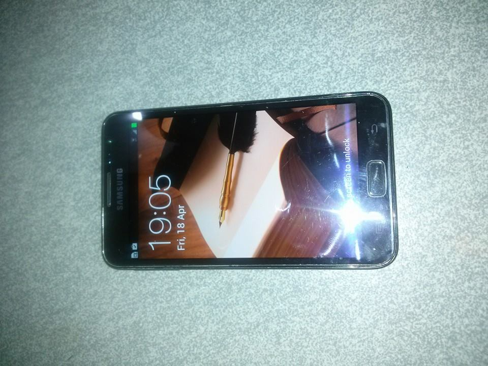 galaxy note1 gt n7000 black photo