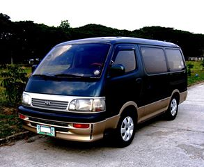 TOYOTA HI ACE SUPER CUSTOM VAN TURBO DIESEL photo