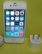 apple iphone 4s 16gb globe lock white photo