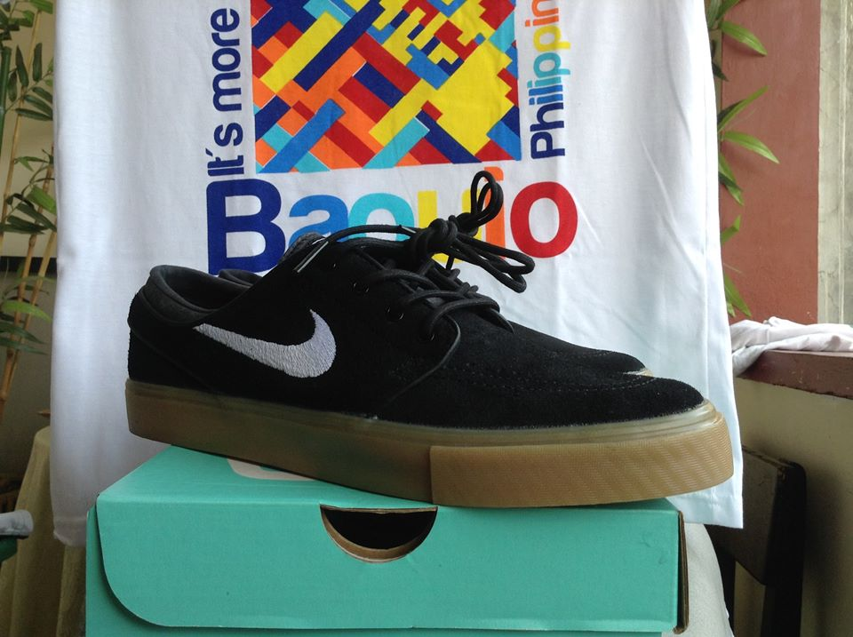 Janoski Stefan Black white gum photo
