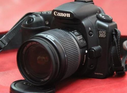canon eos 20d w 18 55mm lens solid magnisium body photo