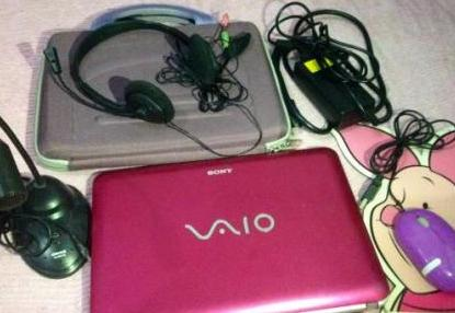 Sony Vaio Netbook Laptop VPCM125AG/P photo