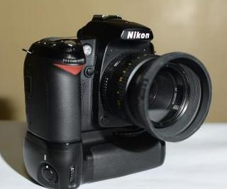 Nikon D90 with 50mm 1.8 & Nikon Battery Grip photo