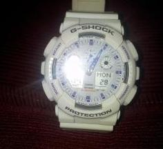G-Shock GA-100a White photo