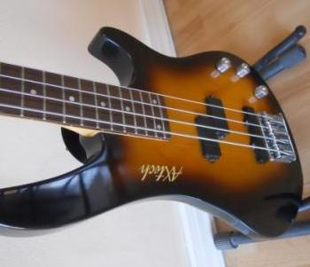 Axtech Electric Bass Guitar Used Philippines