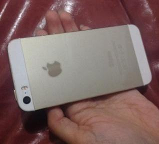 Iphone 5s 16gb globe gold photo