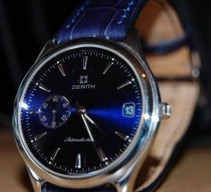 Zenith elite dress watch photo