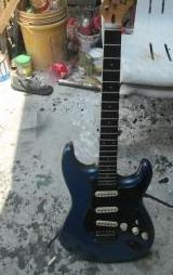 rj 2000 stratocaster guitar photo