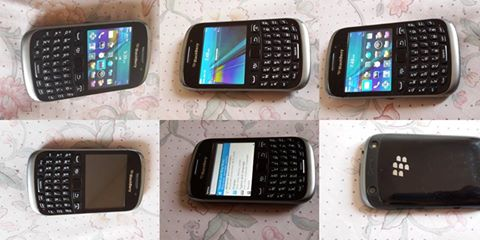 Blackberry 9320 Black openline to all networks photo