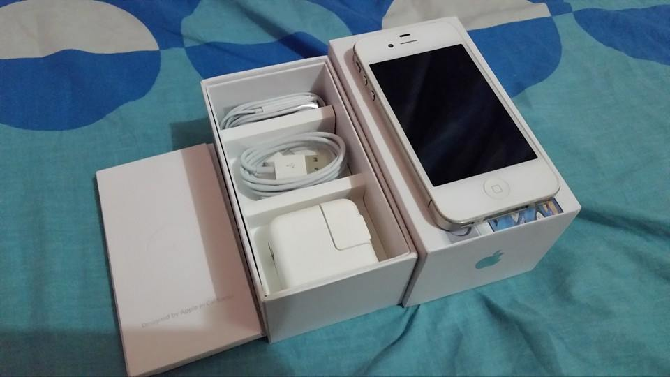 Apple iPhone 4s 32gB white Complete openline photo