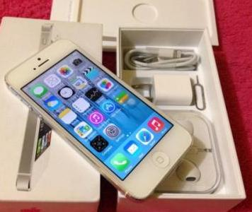 iPhone 5 16gb White Openline Complete photo