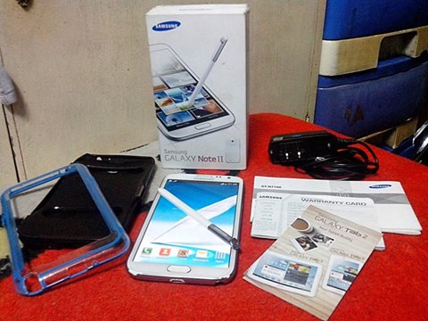 samsung note 2 16gb gt-n7100 openline photo