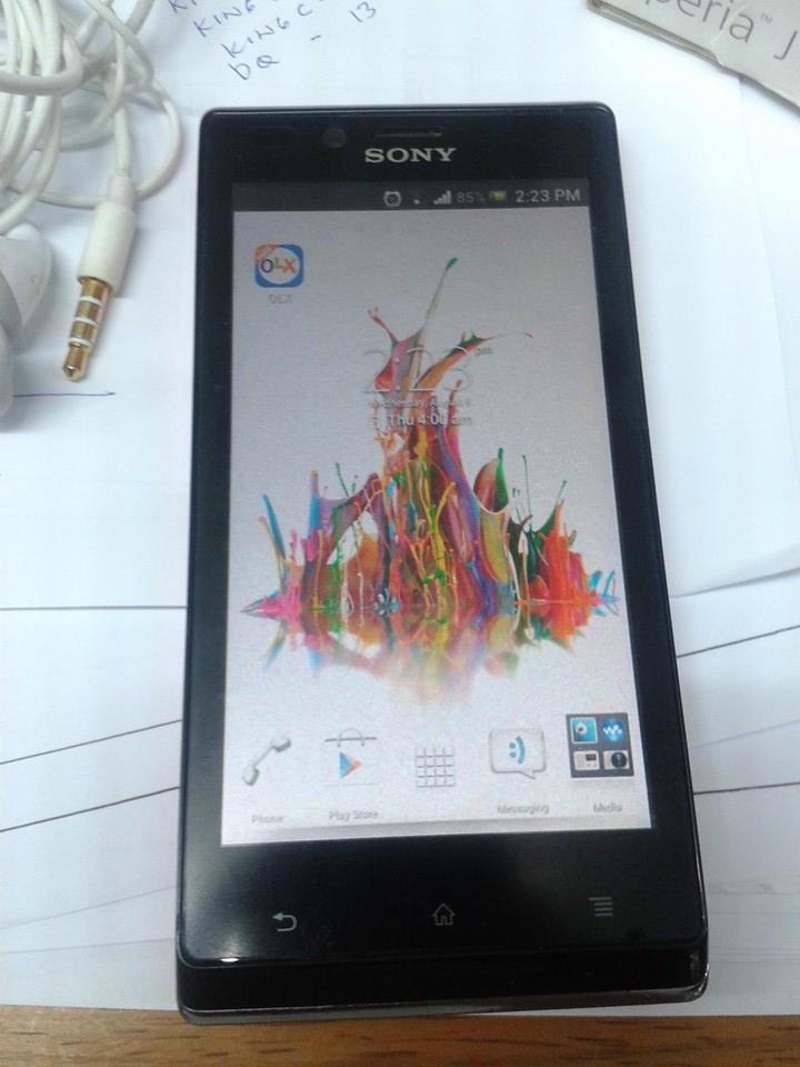 Sony Xperia J Pink photo