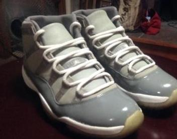 Air Jordan 11 Cool Grey photo