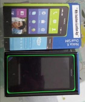 Nokia X dual sim complete photo