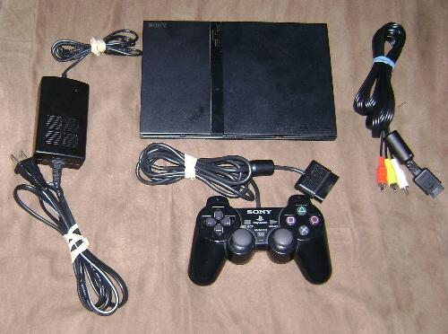 Playstation 2 slim (black) photo