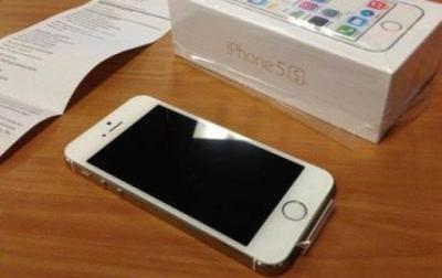 iPhone 5s 32gb Factory Unlock with apple warranty photo