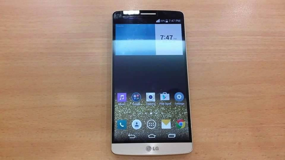 LG Optimus G3 GOLD EDITION (CAT 6)32gb 4G LTE F460L (QUADCORE 2.7 VERSION) photo