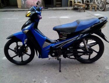 Rusi Wave Style Blue 110cc photo