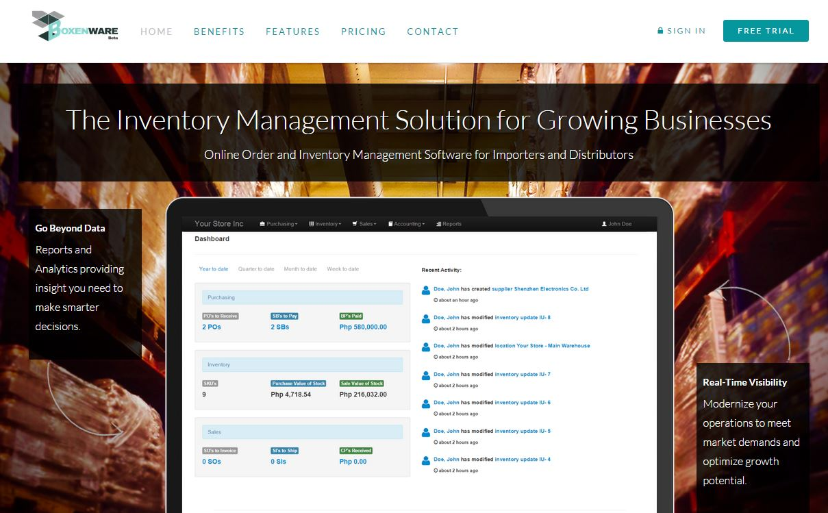 Boxenware - Online Inventory Management Software for Distributors and Importers photo