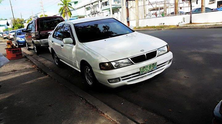 1997 Nissan sentra series 4 ex saloon. photo