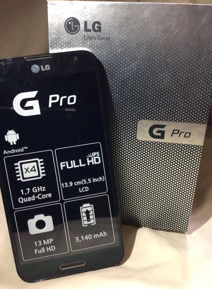 LG Optimus G Pro (E988) photo