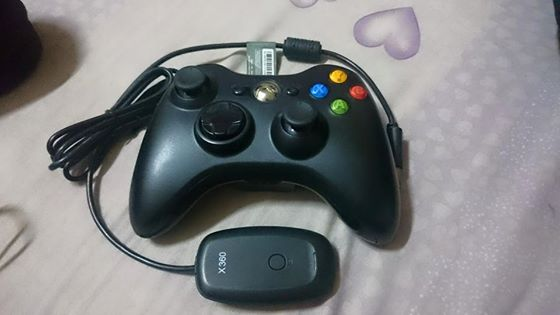 Xbox 360 wireless controller and reciever + razer ferox speaker photo