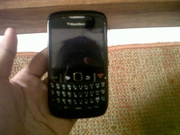 blackberry 8520 (black) photo