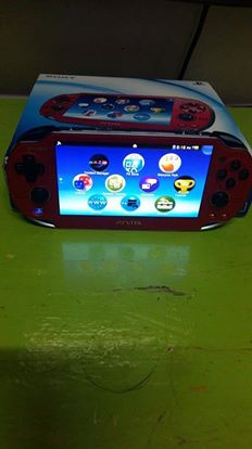 PS VITA COSMIC RED Complete photo