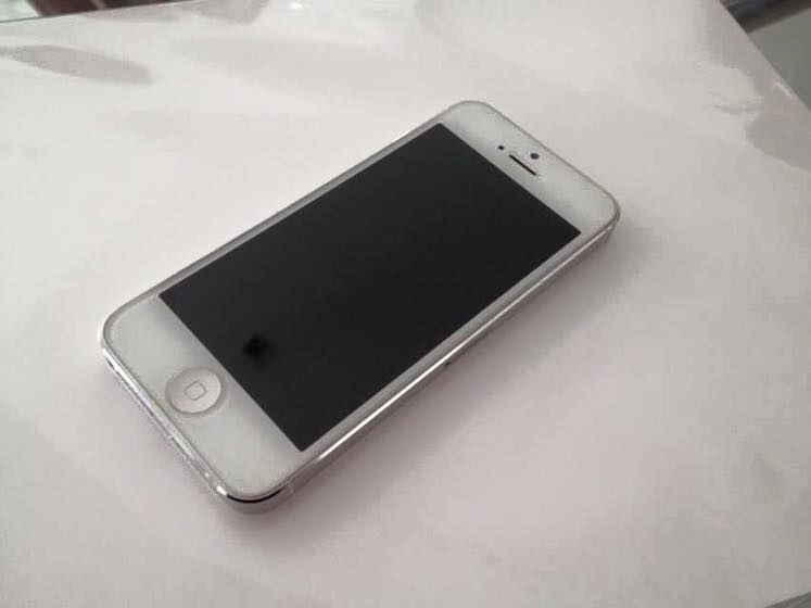 appLe iphone 5 16gb white photo