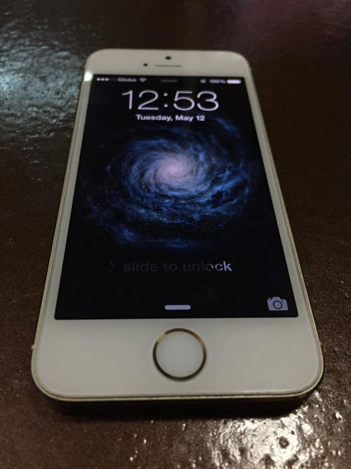 Apple iPhone 5s 32gb Gold photo