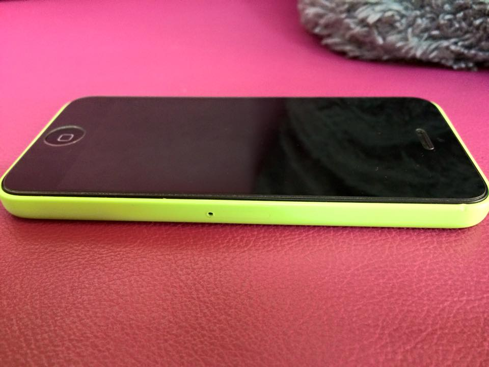 Apple iphone 5c 8gb green photo