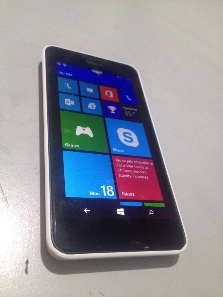 Nokia Lumia 630 Dual Sim White Factory Unlocked photo