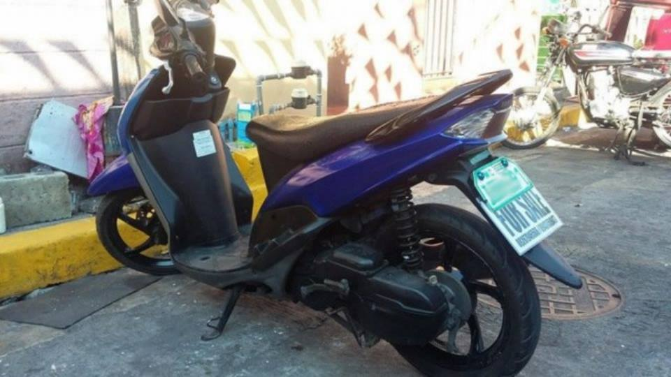 Mio Sporty Amore Blue paint color Mags Fuel Efficient image 2