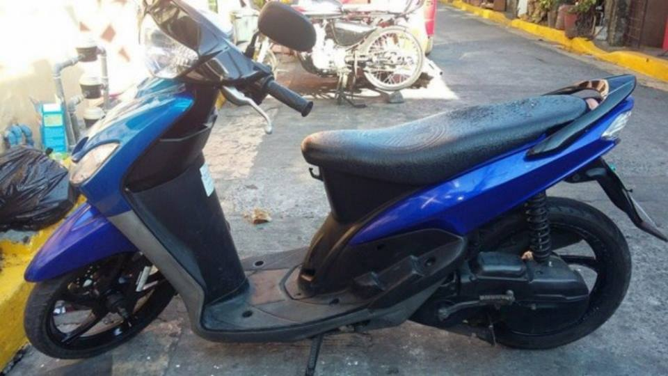 Mio Sporty Amore Blue paint color Mags Fuel Efficient image 3
