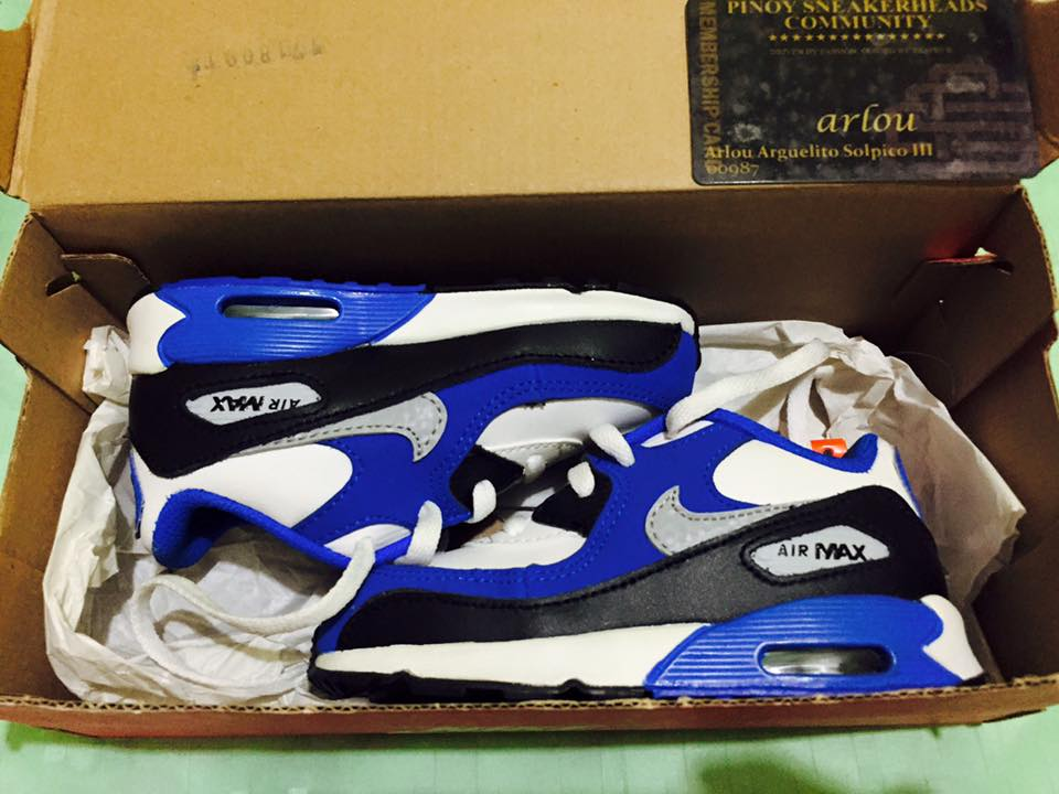 Nike airmax toddler 8c photo